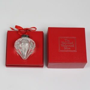 Waterford Annual Crystal Ball ornament 1993